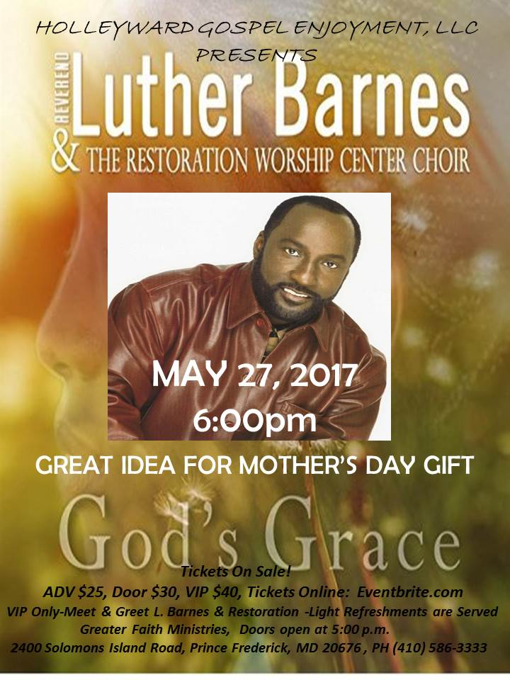 Rev. Luther Barnes at GFM