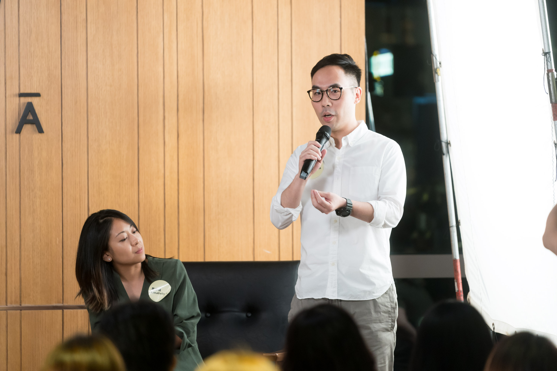 Producer Ron Tan