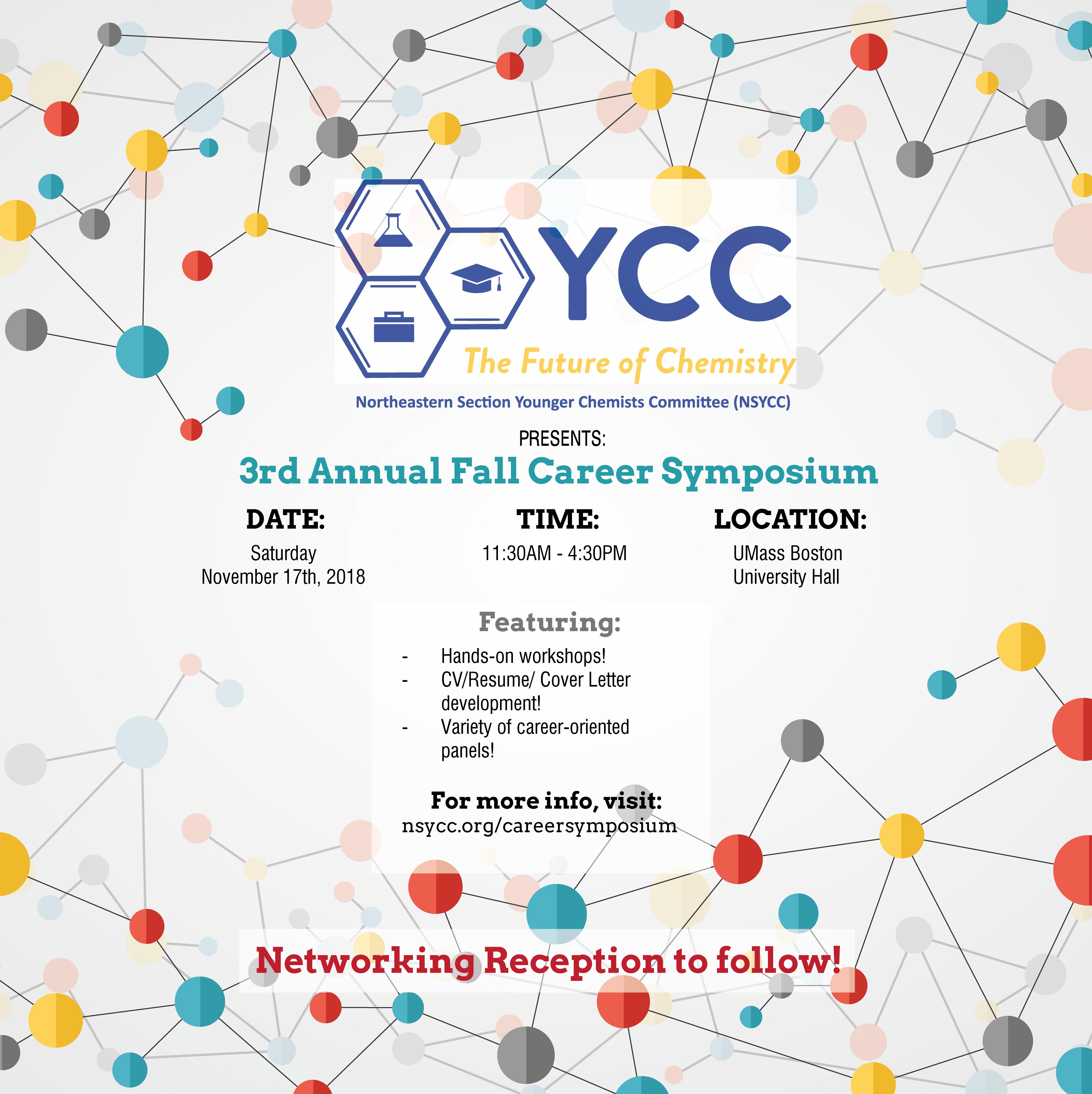 2018 Career Symposium Flier