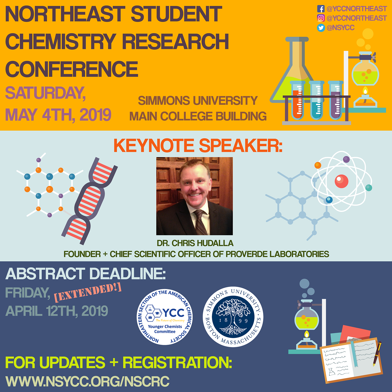 2019 Northeast Student Chemistry Research Conference Simmons University May 2019
