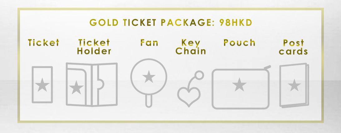 ticket - gold