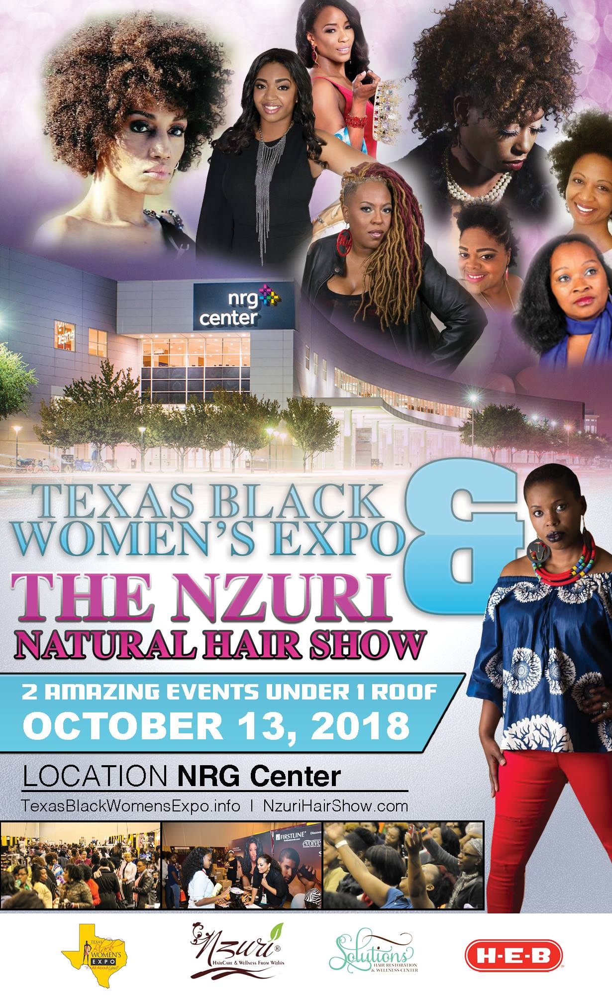 Texas Black Womens Expo Flyer