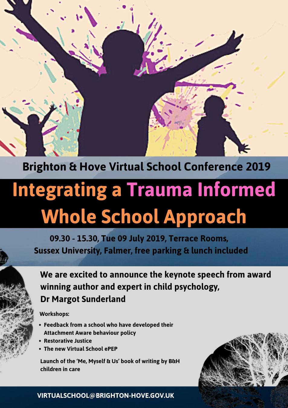 Virtual School Conference Flyer 2019