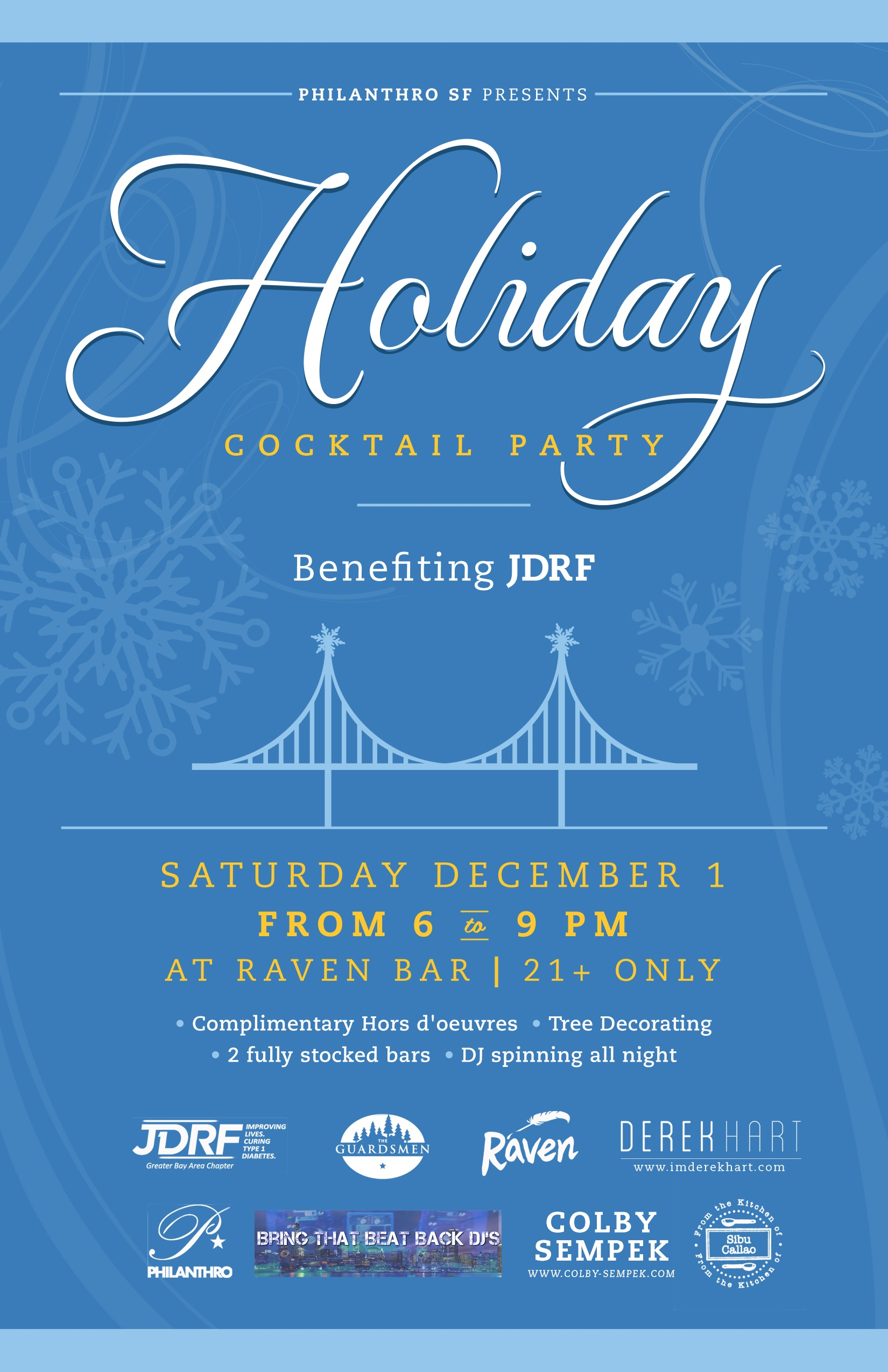 Re:Union. P*SF Holiday Party benefiting JDRF