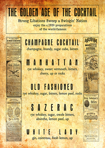 Special Cocktail List just for Blair!
