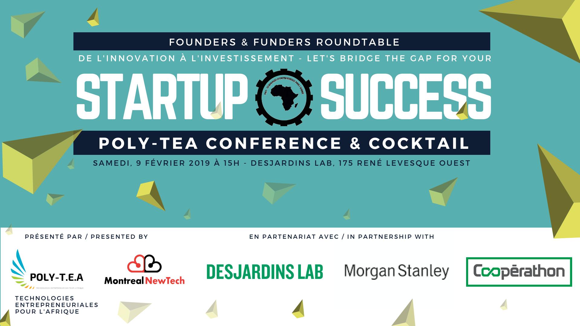 Poly-TEA Conference: «Startup Innovation, Technologie et