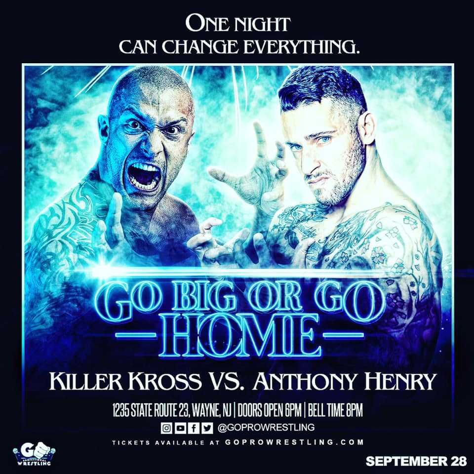 Killer Kross vs Anthony Henry
