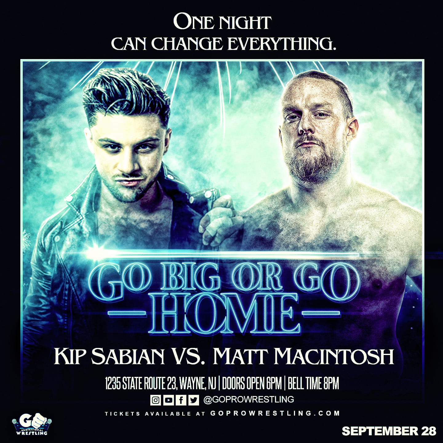 Kip Sabian vs Matt Macintosh