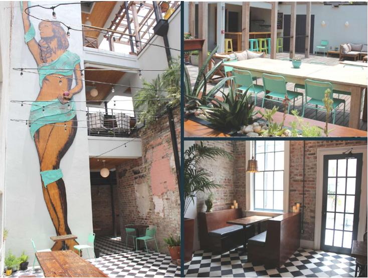 Catahoula Hotel Collage