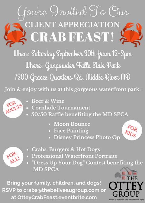 The Ottey Group Crab Feast