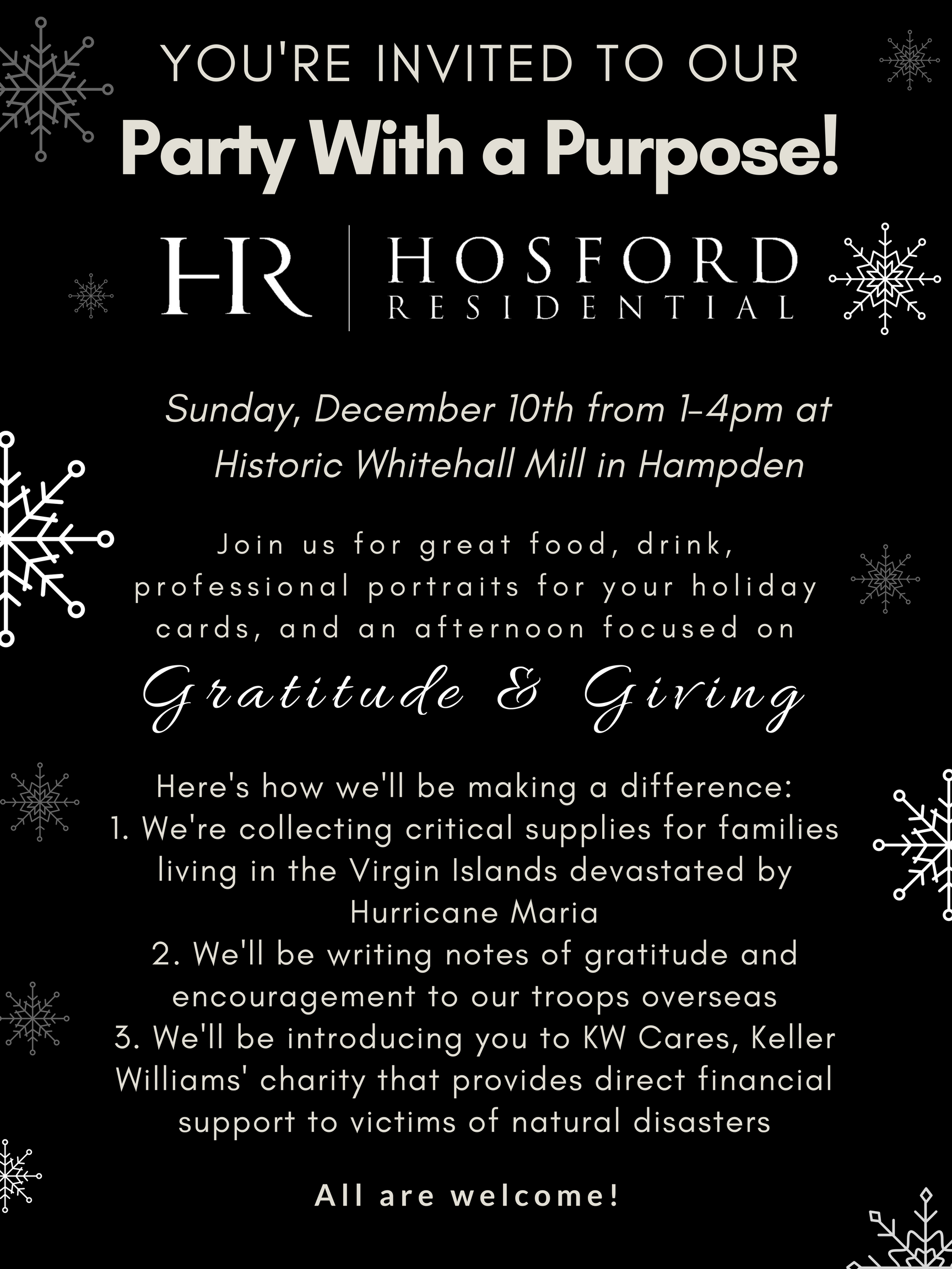Hosford Party With A Purpose