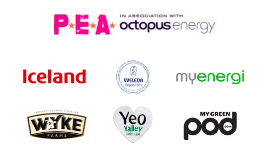 P.E.A Awards Sponsor Logos