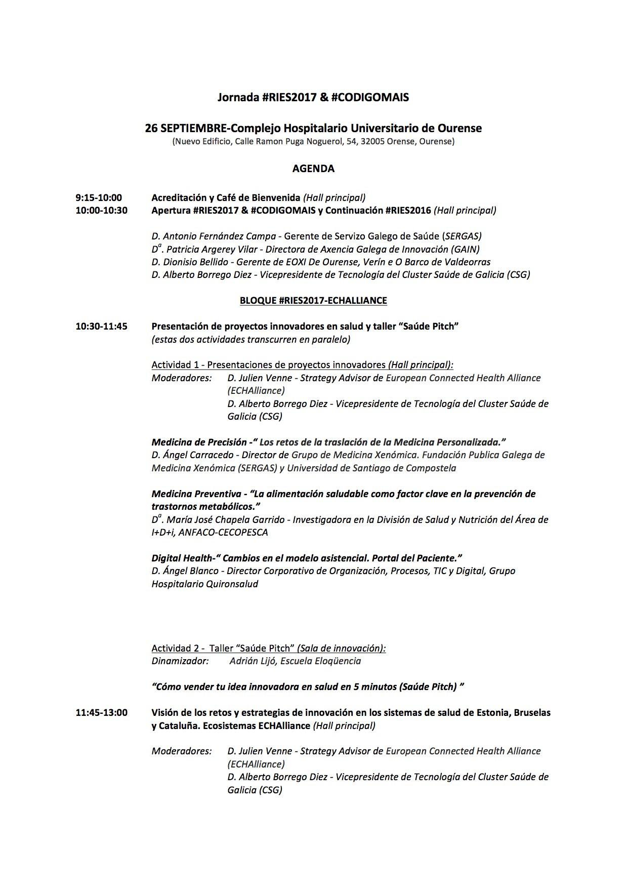Programa #RIES207 & #CODIGOMAIS Page1