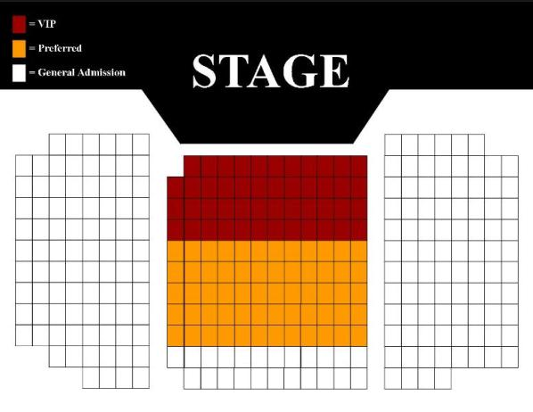 Broadway Theater Seating Chart