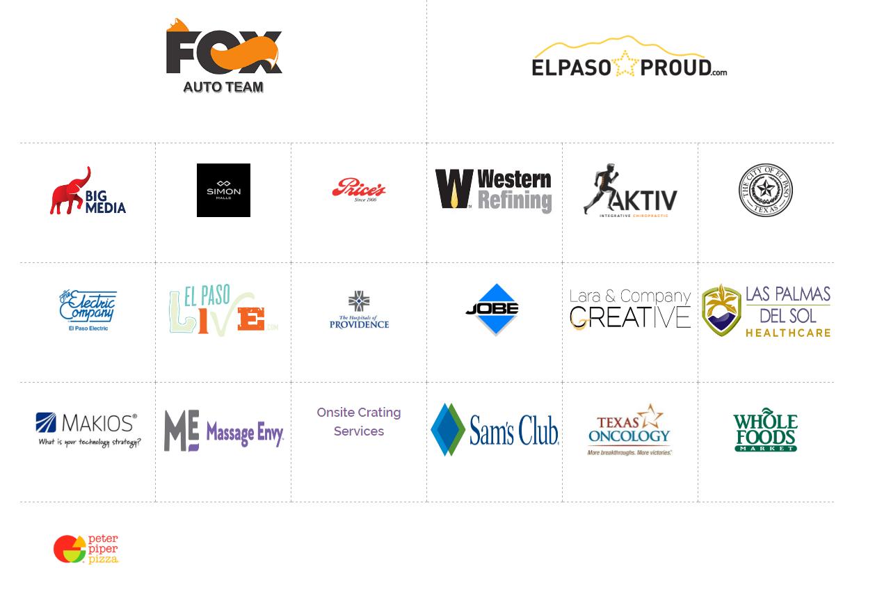2017 Sponsor List