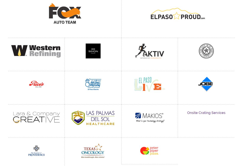 2017 Sponsors in El Paso, TX