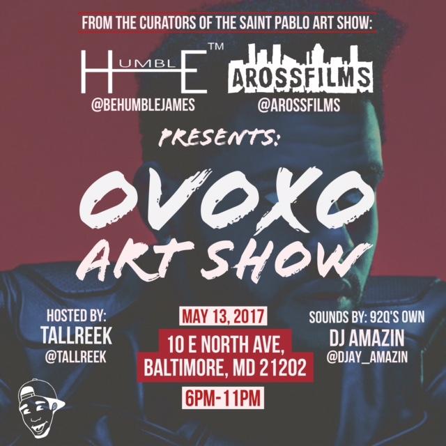 THE OVOXO ART SHOW