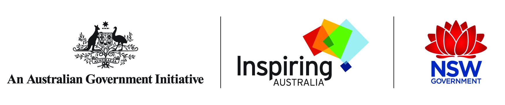 Inspiring Australia logos