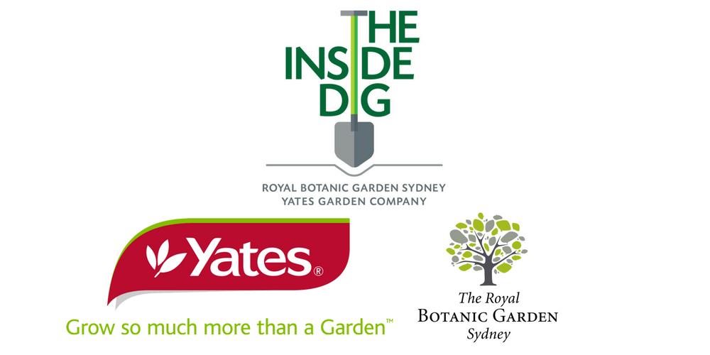 Yates and Royal Botanic Garden Sydney logos