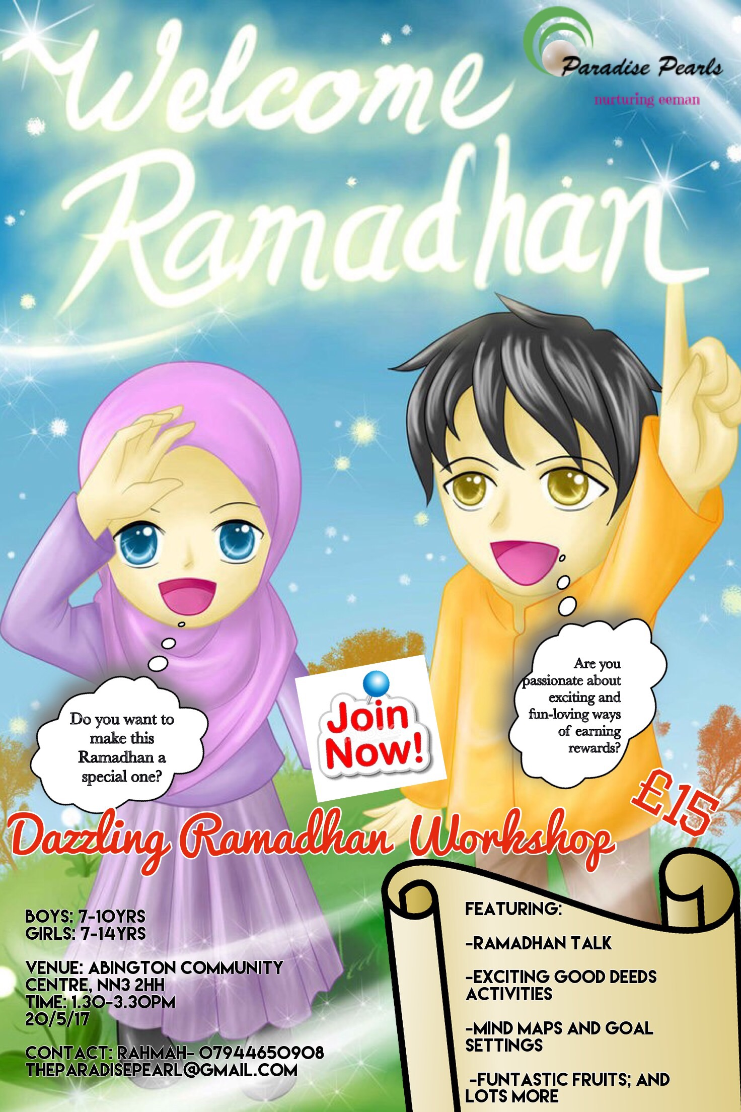 A fun-filled Ramadhan workshop for kids