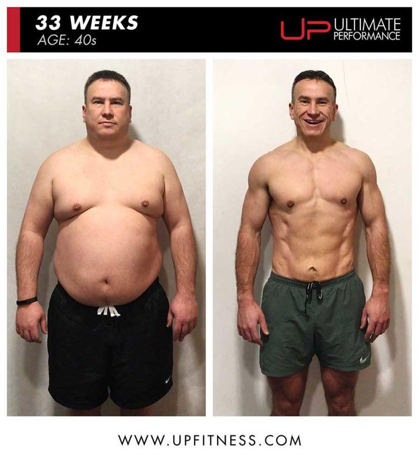 Mike 33 week amazing fat loss - U.P.