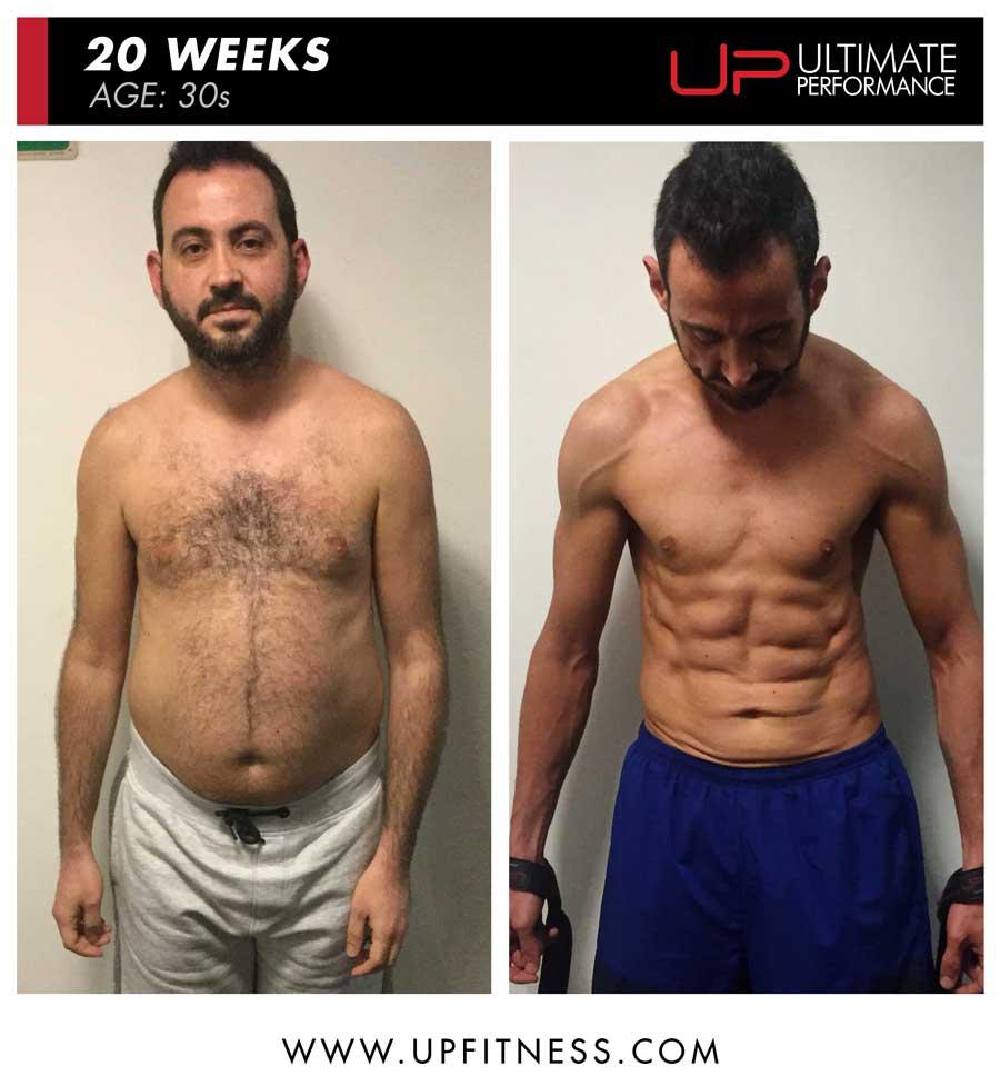 Panos 20 weeks great fat loss transformation