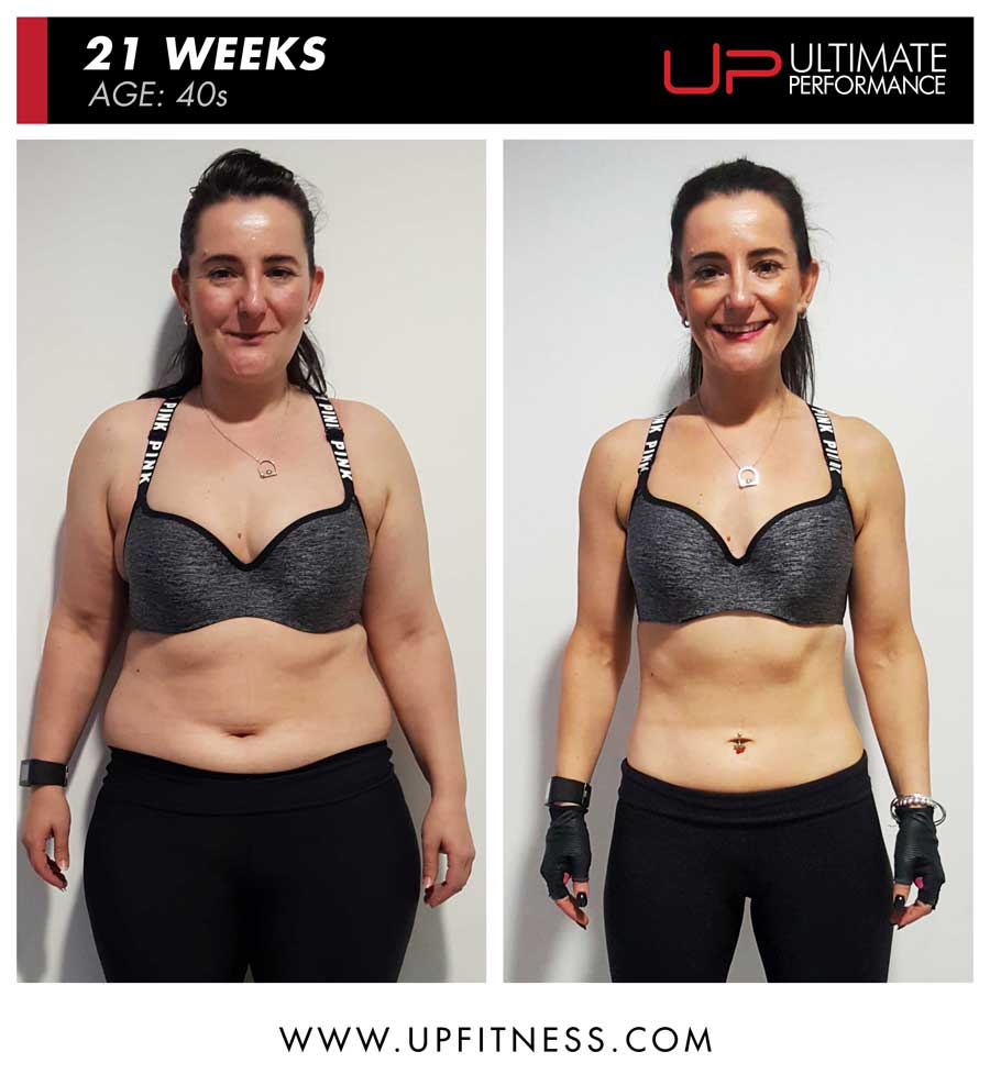 Rachael - huge fat loss with UP