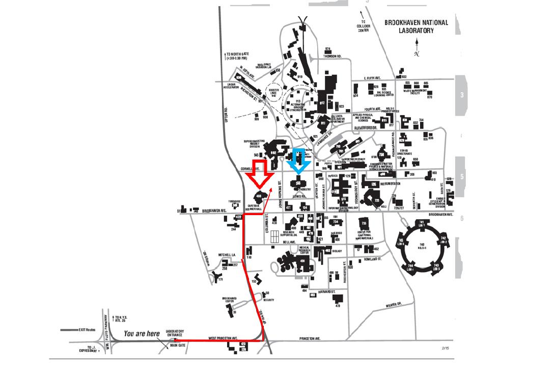BNL Map