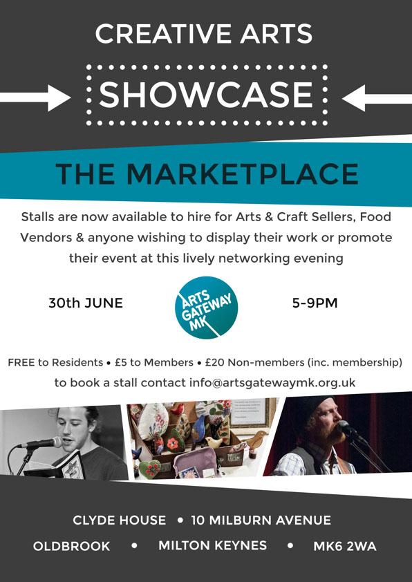 AGMK Creative Arts Showcase Marketplace - 30th June 2016