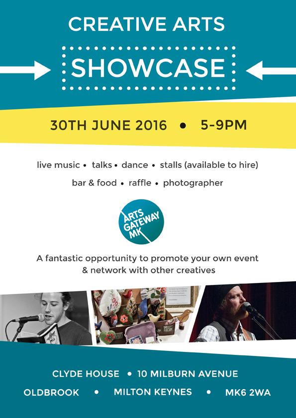 AGMK Creative Arts Showcase - 30th June 2016