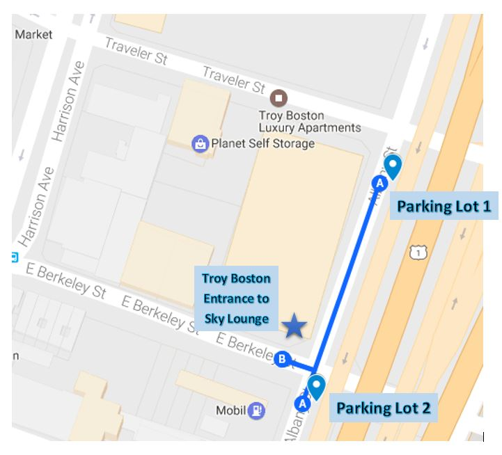 Parking Lot Locations