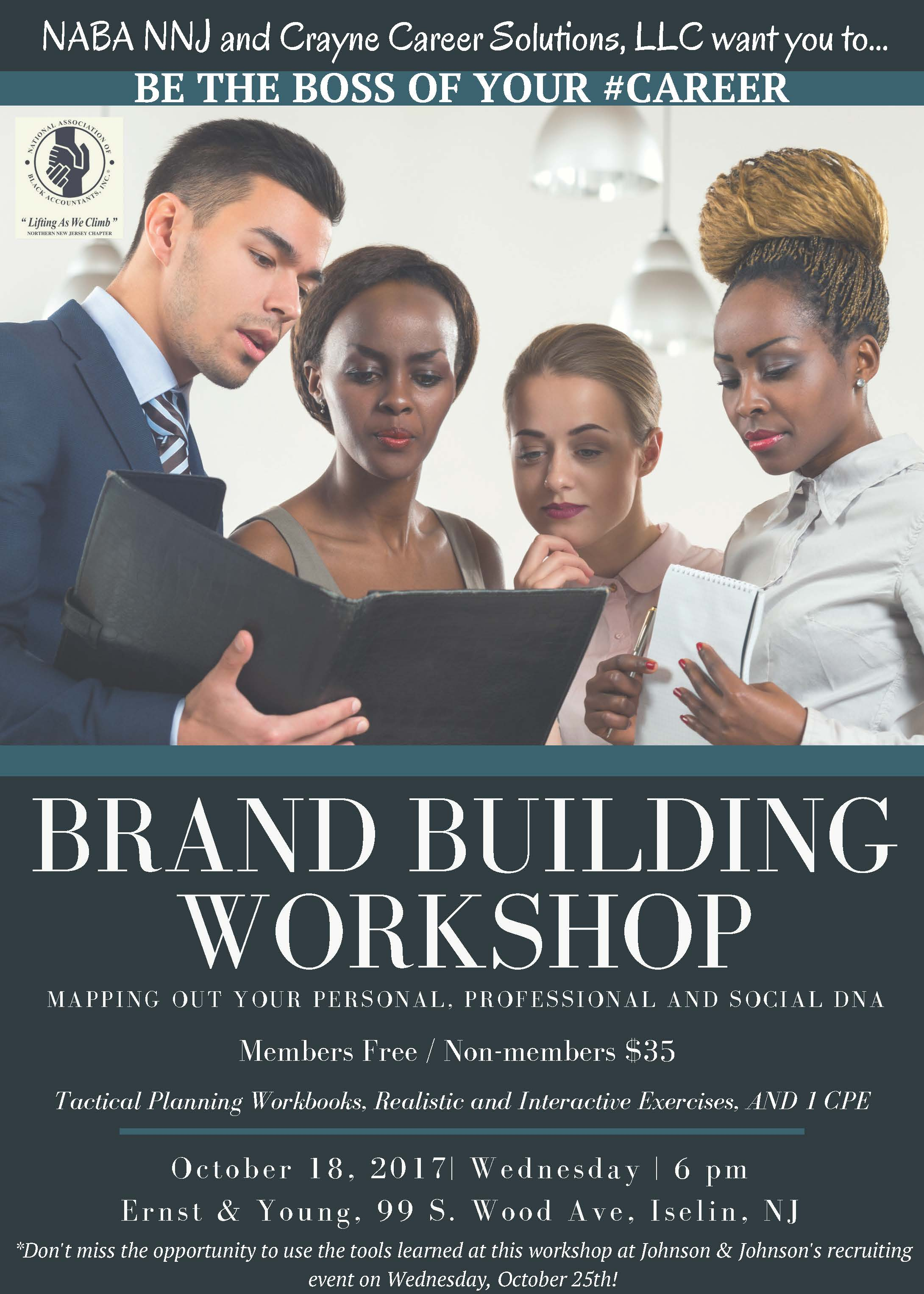 NABA NNJ Brand Building Workshop Flyer