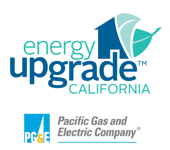 Energy Upgrade California and Pacific Gas and Electric Company Logos