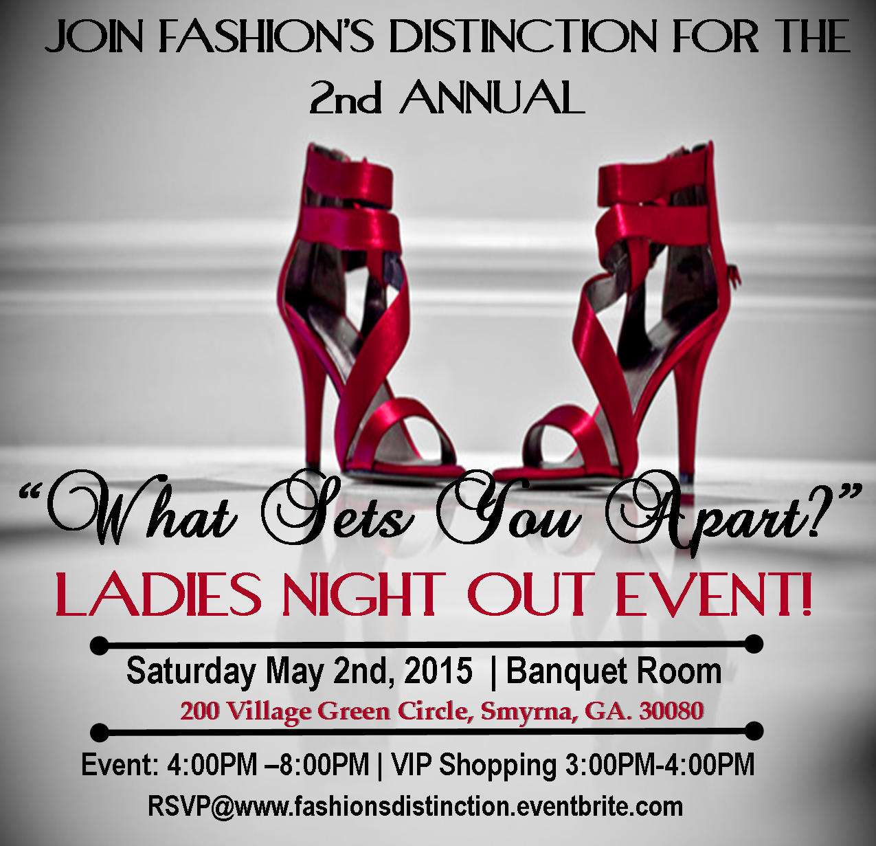 "Fashion's Distinction 2nd Annual ""What Sets You Apart"