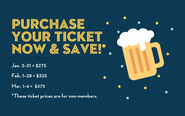 Purchase ACBC tickets now and save