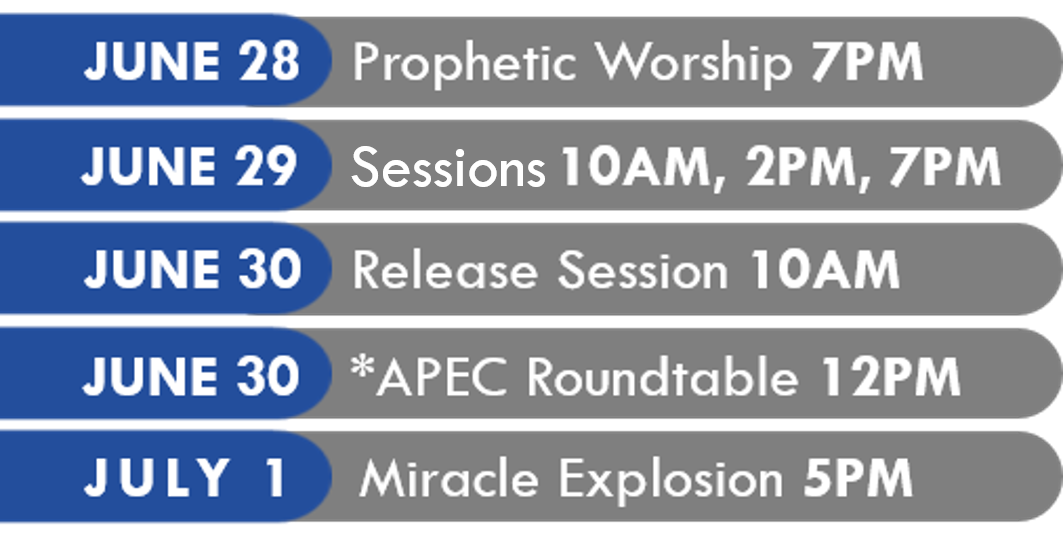 APEC Schedule
