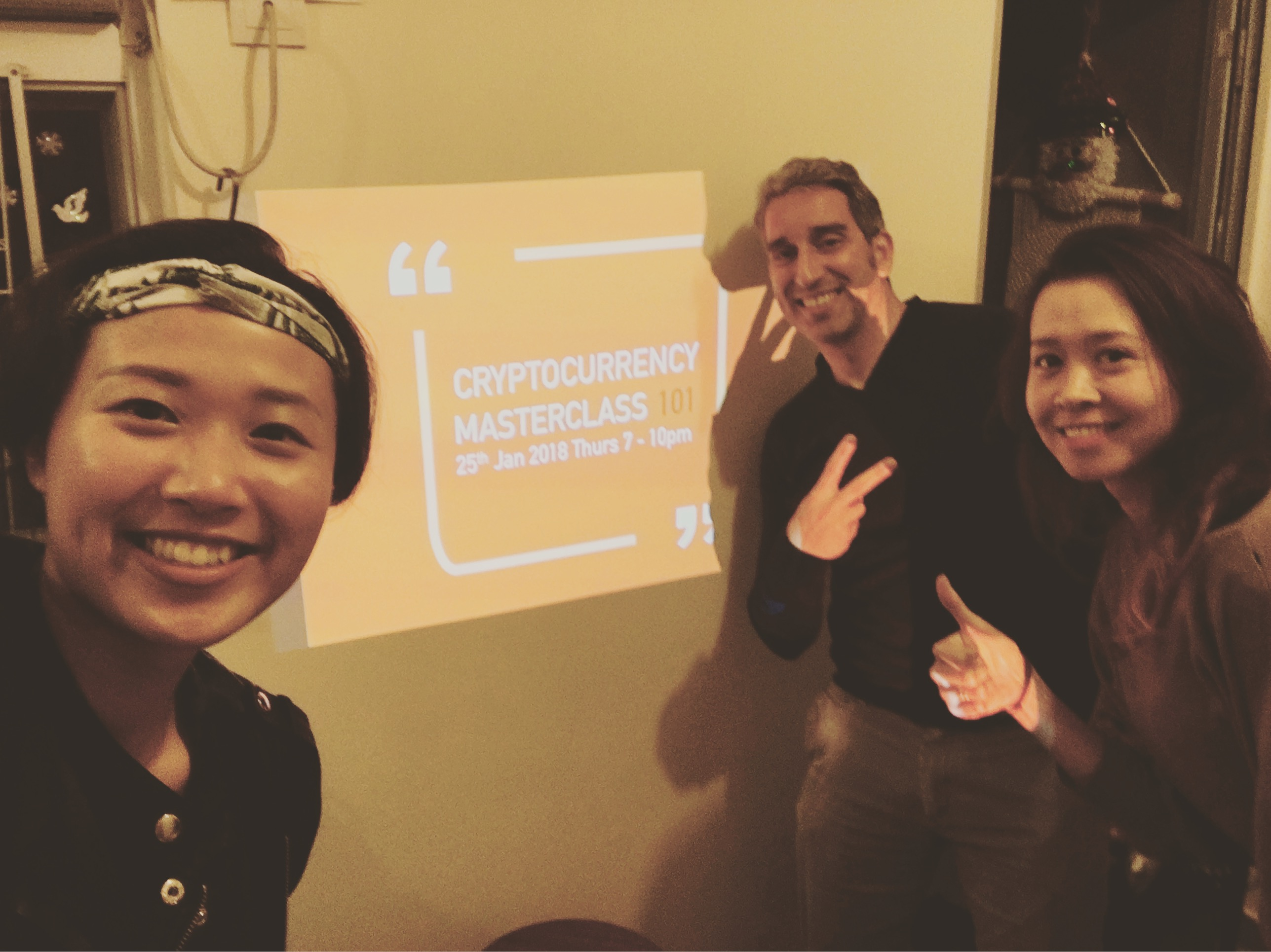 Cryptocurrency Masterclass Students