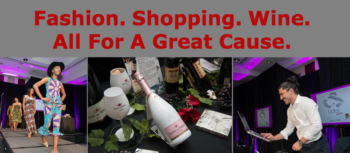 Fashion. Shopping. Wine.