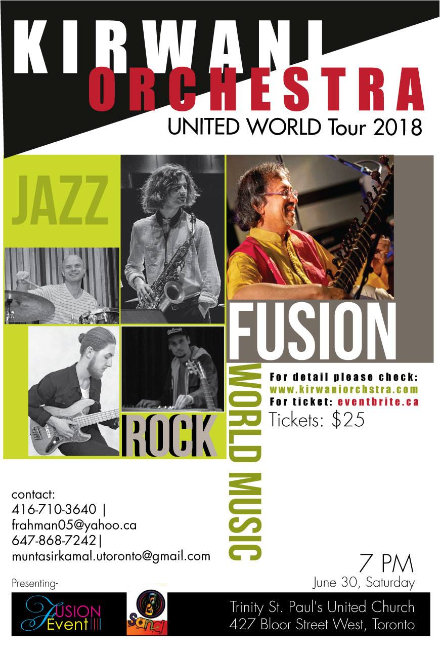 Kirwani Orchestra - United World Concert 2018