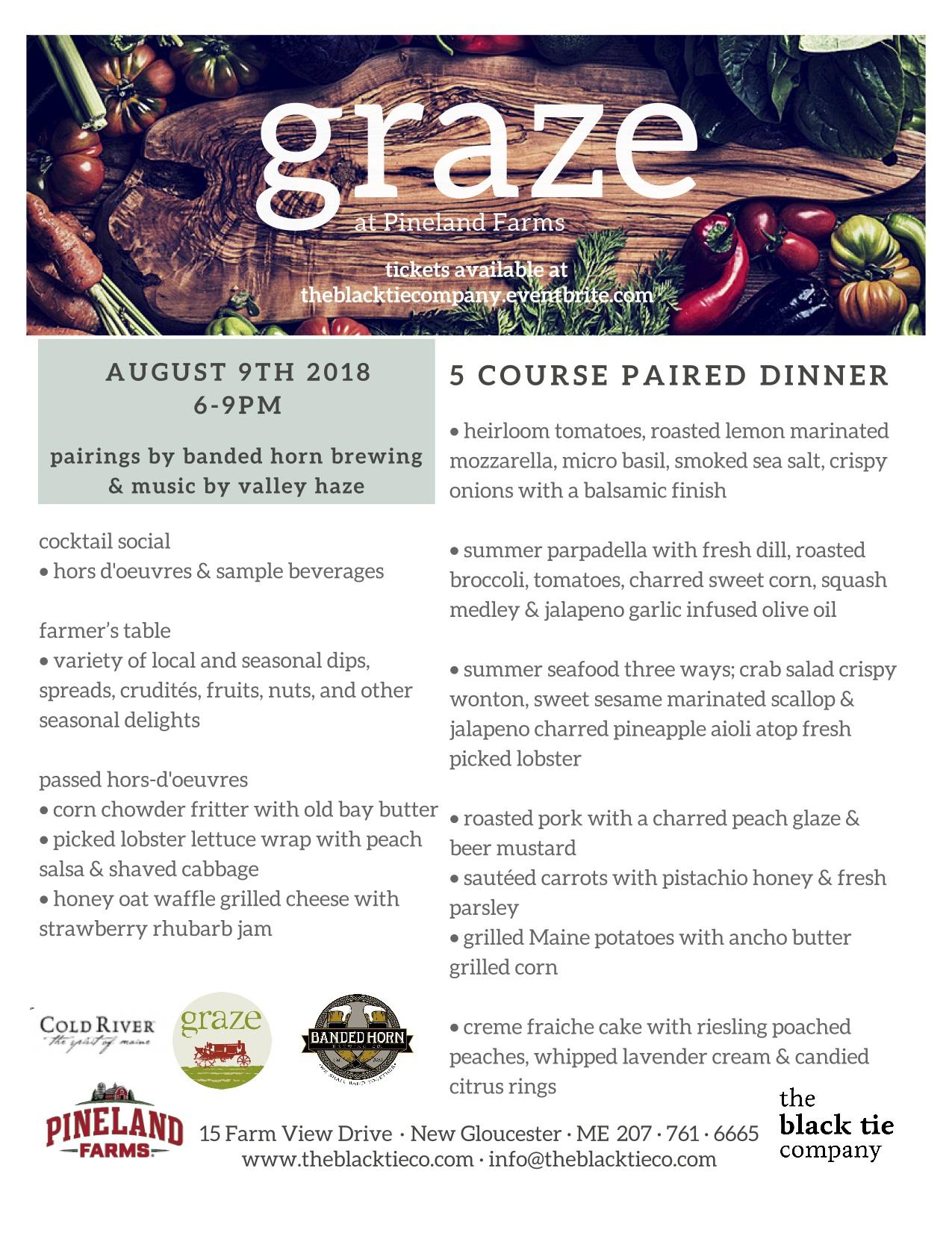 august graze menu