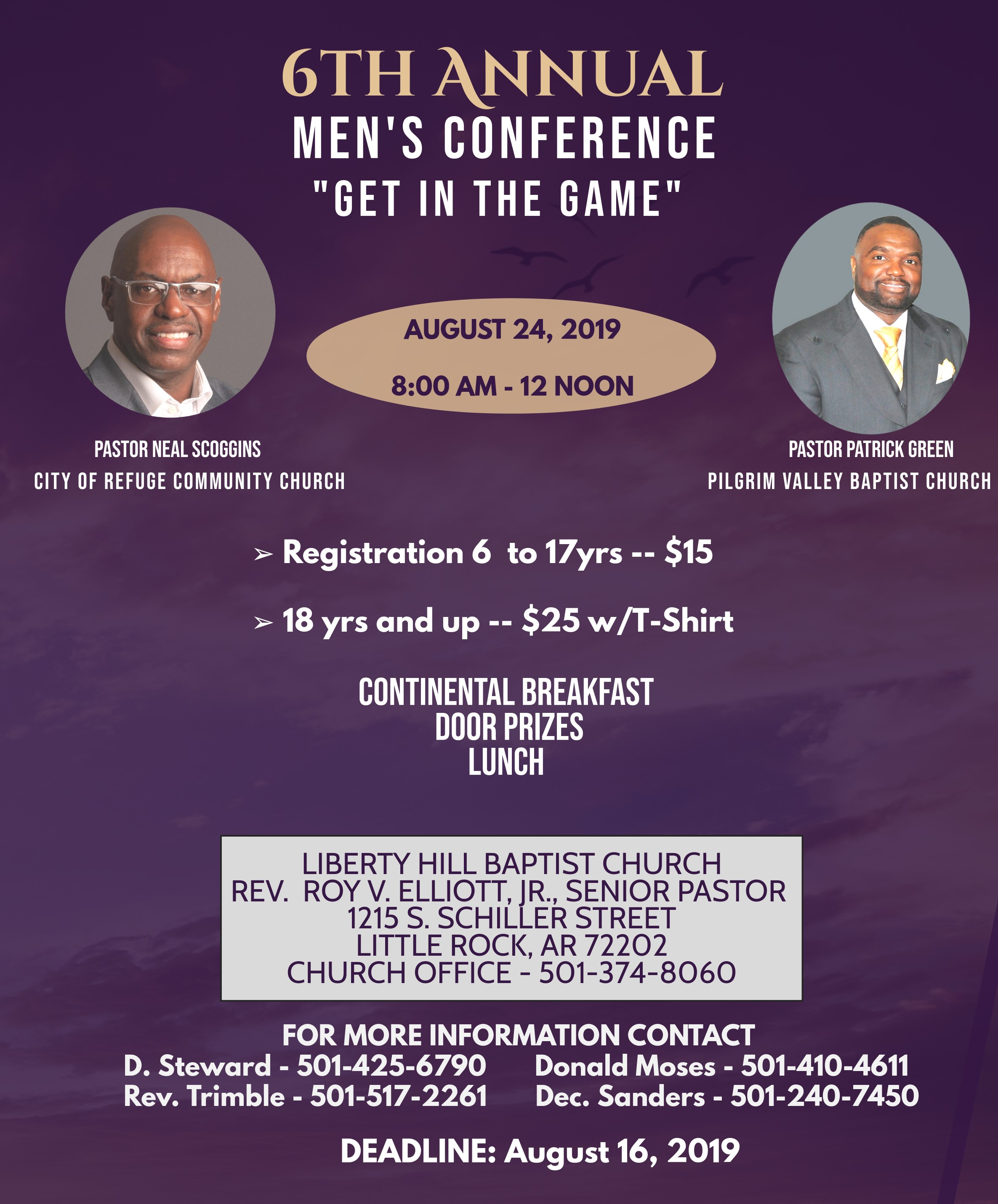 Liberty Hill Men's Conference