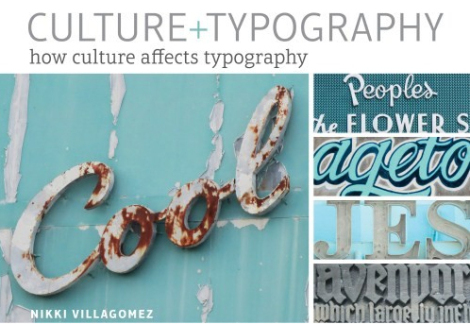 Culture + Typography book