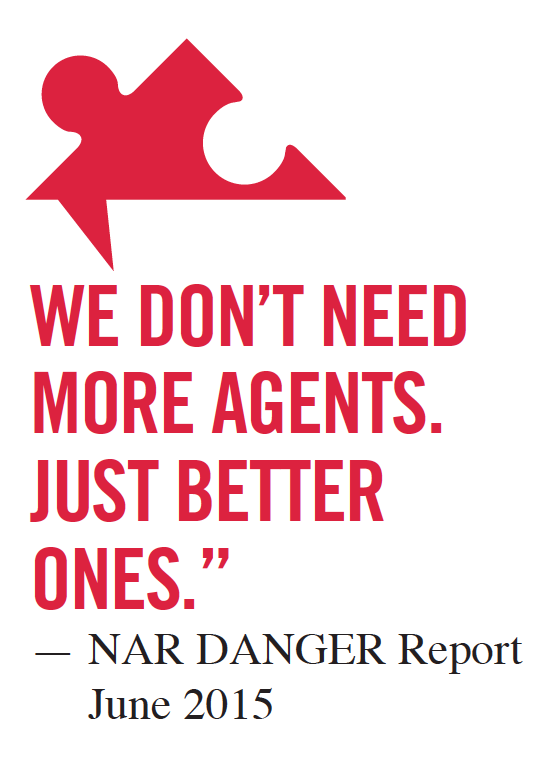 Danger Real Estate Repor Quote