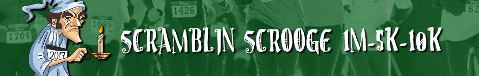 Scramblin Scrooge Banner