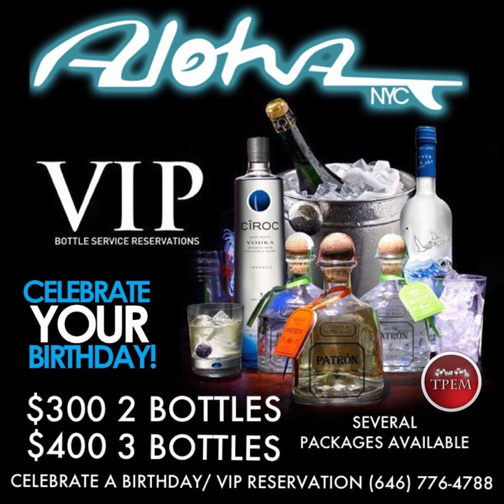 hennessy cake recipe birthday celebration at aloha nyc tickets dates 4788