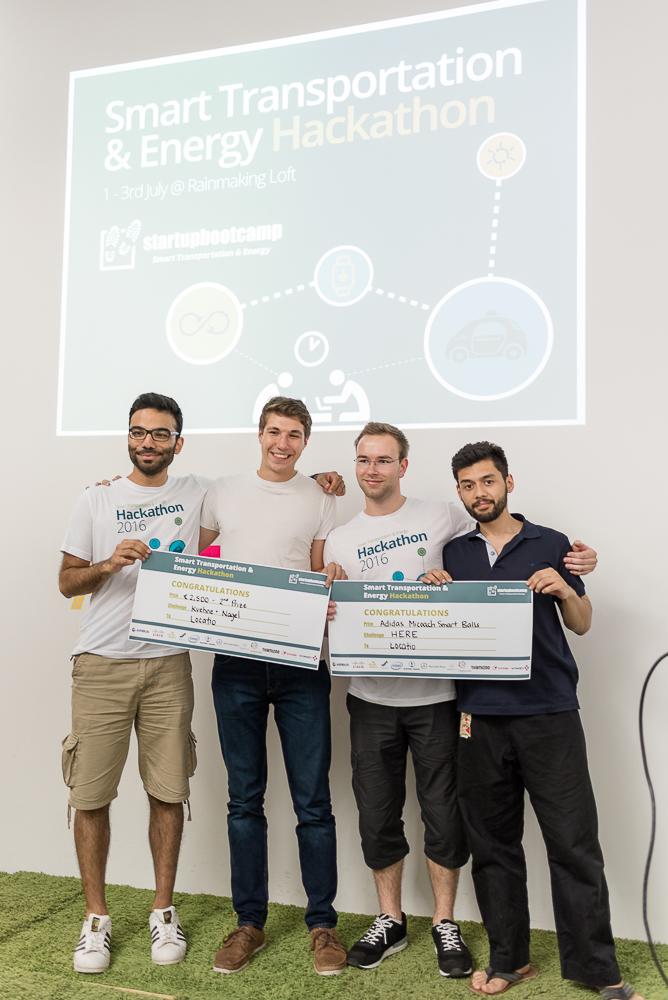Startupbootcamp Hackathon 2016