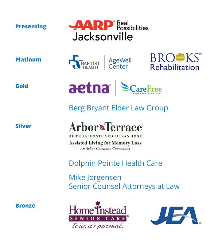 2018 Caregiver Coalition of Northeast Florida Sponsors 2-2018
