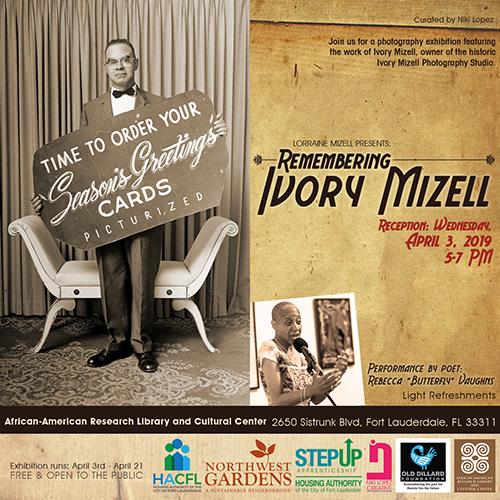 Ivory Mizell Photography Exhibit