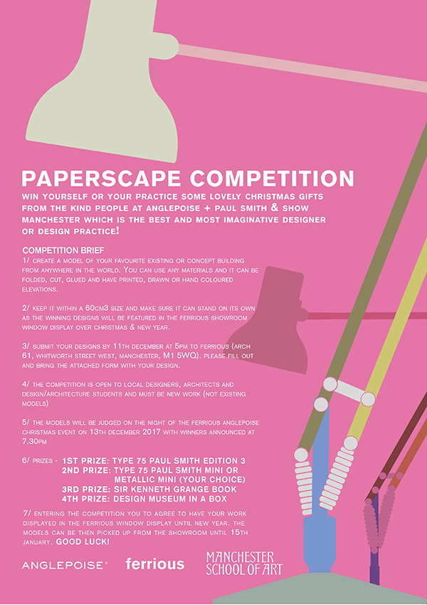 Anglepoise + Paul Smith Competition Brief