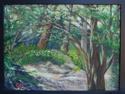painting of hendrie park royal botanical gardens burlington ontario